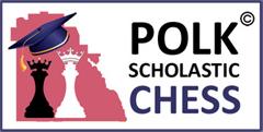Polk Scholastic Chess Logo